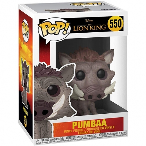 Funko Pop 550 - Pumbaa - The Lion King Funko
