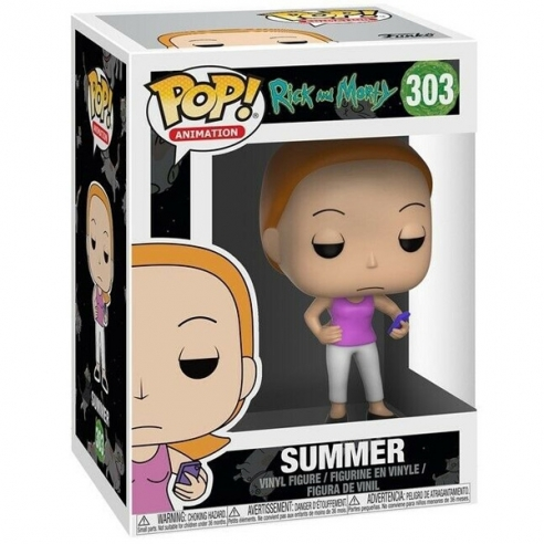 Funko Pop Animation 303 - Summer - Rick and Morty Funko