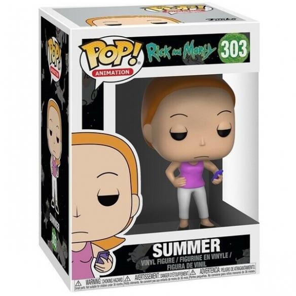 Funko Pop Animation 303 - Summer - Rick and Morty Funko