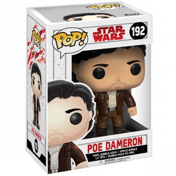 Funko Pop 192 - Poe Dameron - Star Wars Funko