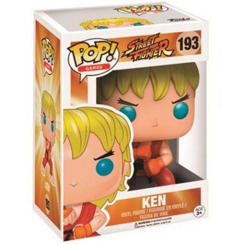 Funko Pop Games 193 - Ken - Street Fighter Funko