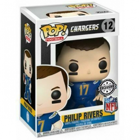 Funko Pop Football 12 - Philip Rivers - Chargers Funko