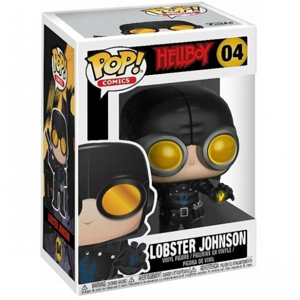 Funko Pop Comics 04 - Lobster Johnson - Hellboy Funko