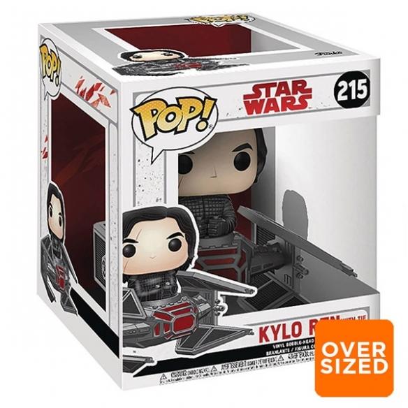 Funko Pop 215 - Kylo Ren with Tie Fighter - Star Wars Funko
