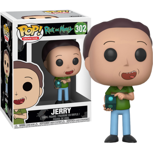 Funko Pop 302 - Jerry - Rick and Morty Funko 12,90 €