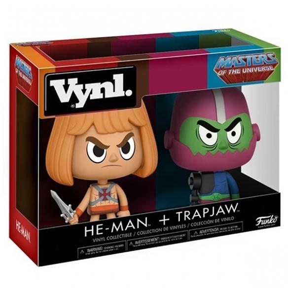 Funko Vynl - He-Man + Trapjaw - Masters of the Universe Funko
