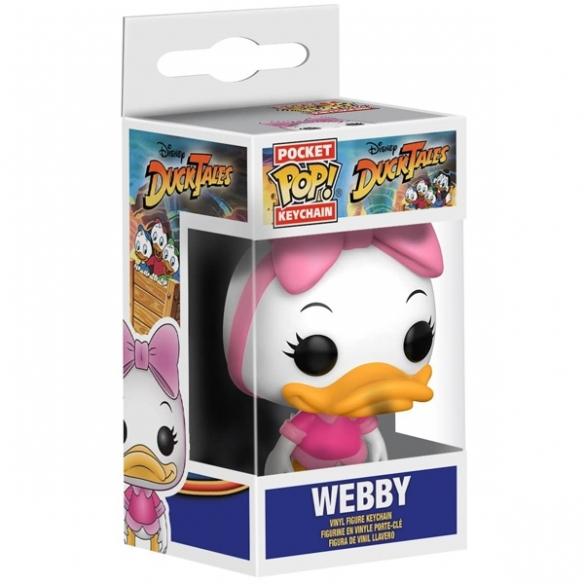 Funko Keychain - Webby - DuckTales Funko