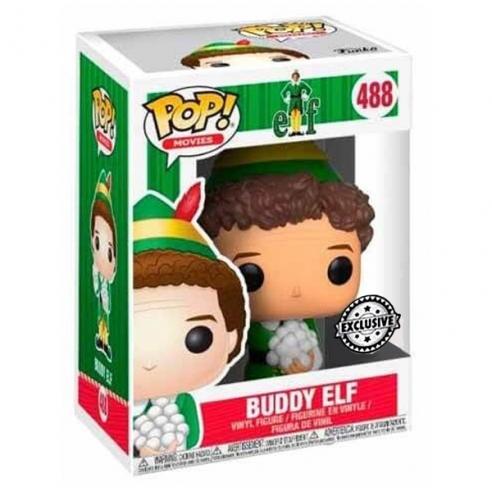 Funko Pop Movies 488 - Buddy with Snowballs - Elf (Exclusive) Funko