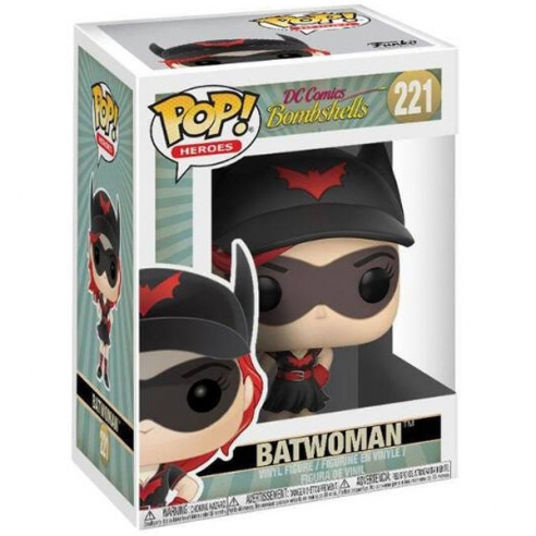 Funko Pop Heroes 221 - Batwoman - DC Comics Bombshells Funko