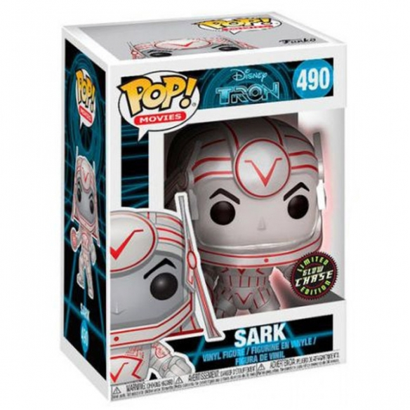 Funko Pop Movies 490 - Sark - Tron (Limited Glow Chase Edition) Funko