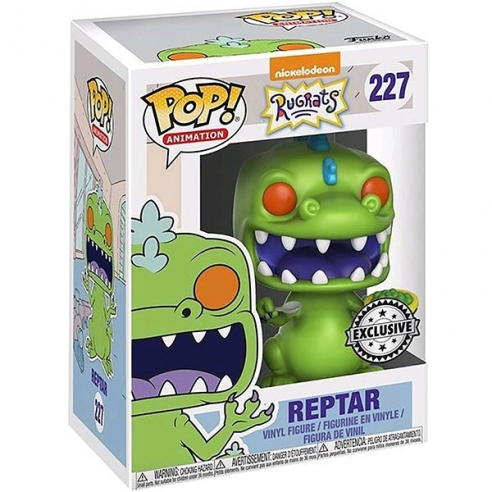 Funko Pop Animation 227 - Reptar with Cereal - Rugrats (Exclusive) Funko