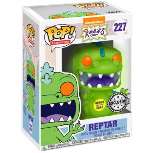 Funko Pop Animation 227 - Reptar - Rugrats (Glows in the Dark) (Exclusive) Funko