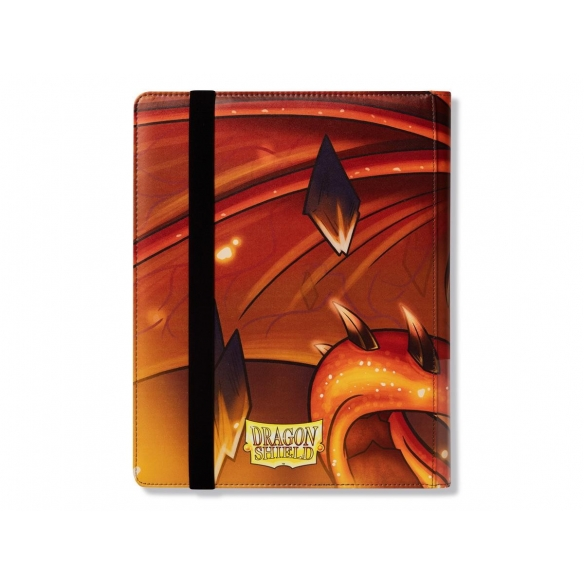 Dragon Shield - Album 9 tasche - Rendshear Red Album