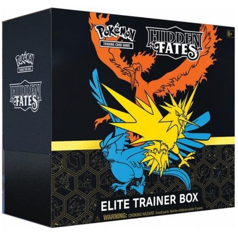 Destino Sfuggente / Hidden Fates - Set Allenatore Fuoriclasse / Elite Trainer Box (ENG) Set Allenatore Fuoriclasse