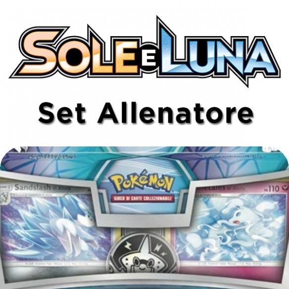 Sole e Luna - Sandslash Di Alola & Ninetales Di Alola - Set Allenatore (ITA) Collezioni