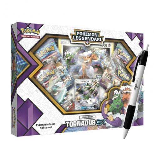 Tornadus Gx - Set Pokémon Leggendari + Penna Fantàsia (ITA) Collezioni