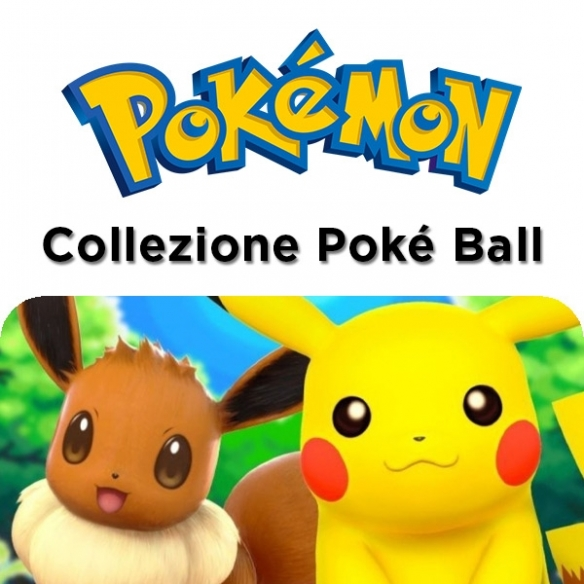 Collezione Poké Ball Pikachu E Eevee (ITA) Collezioni