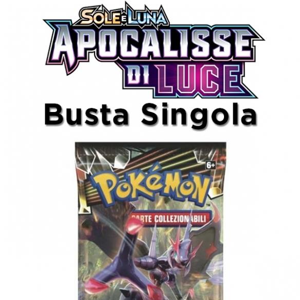 Sole & Luna Apocalisse Di Luce - Busta 10 Carte (ITA) Bustine Singole