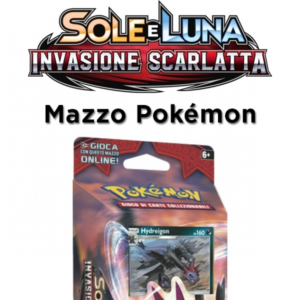 Zanne Micidiali - Mazzo Sole E Luna Invasione Scarlatta (ITA) Mazzi Precostruiti
