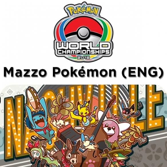 Buzzroc - Mazzo Pokèmon World Championships 2018 + Penna Fantàsia (ENG) Mazzi Precostruiti