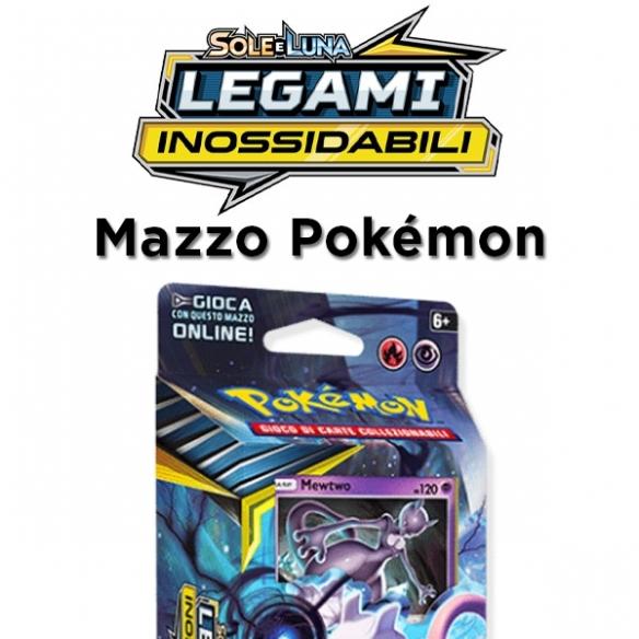 Mewtwo Mente Marziale - Mazzo Tematico Legami Inossidabili + Penna Fantàsia (ITA) Mazzi Precostruiti