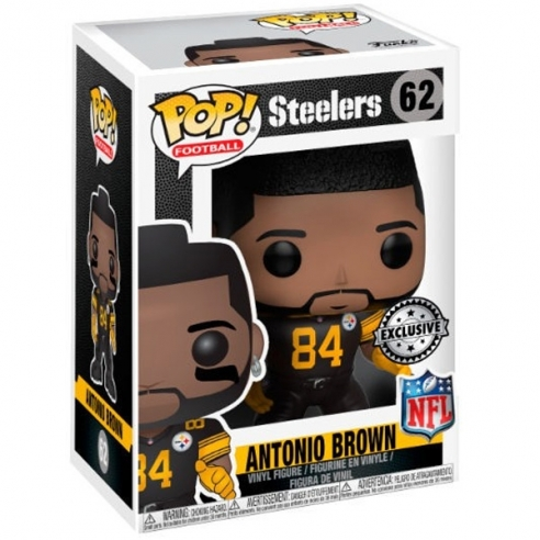 Funko Pop Football 62 - Antonio Brown - Steelers Funko