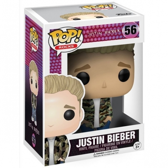 Funko Pop 56 - Justin Bieber - Rocks Funko