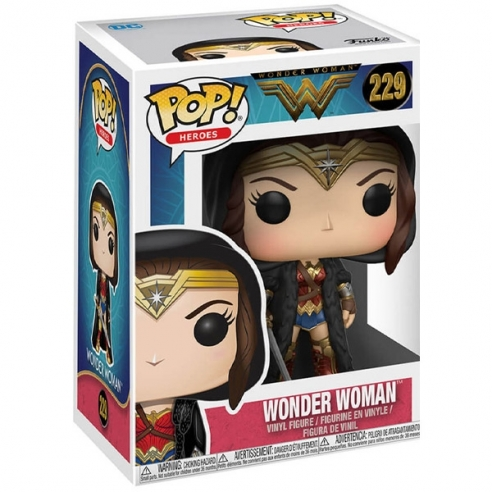 Funko Pop 229 - Wonder Woman (Cloak) - Wonder Woman Funko