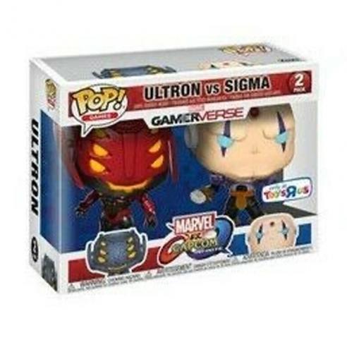 Funko Pop Games 2 Pack - Ultron vs Sigma - Marvel vs Capcom Infinite (Exclusive) Funko