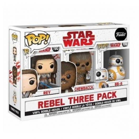 Funko Pop REBEL THREE PACK - Star Wars Funko
