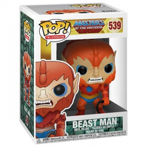 Funko Pop Television 539 - Beast Man - Masters of the Universe Funko