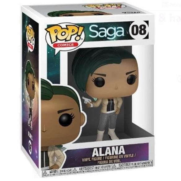 Funko Pop Comics 08 - Alana - Saga Funko