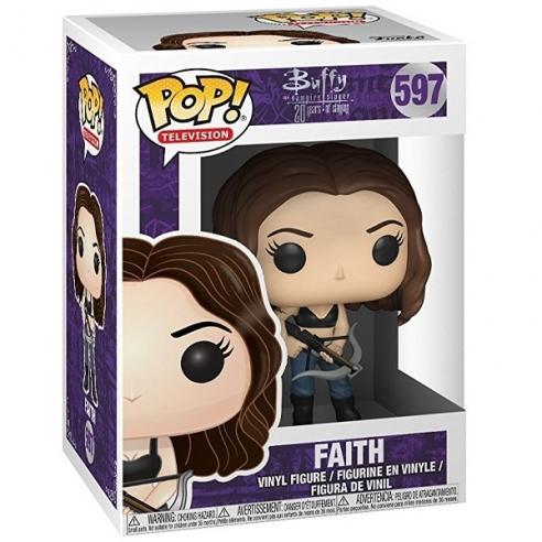 Funko Pop Television 597 - Faith - Buffy the Vampire Slayer Funko