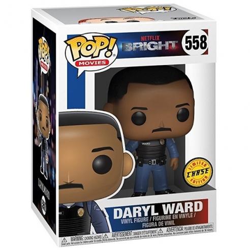 Funko Pop Movies 558 - Daryl Ward - Bright (Chase) Funko