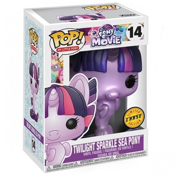 Funko Pop My Little Pony 14 - Twilight Sparkle Sea Pony - My Little Pony Movie (Chase) Funko