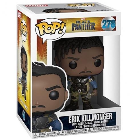 Funko Pop 278 - Erik Killmonger - Black Panther POP!