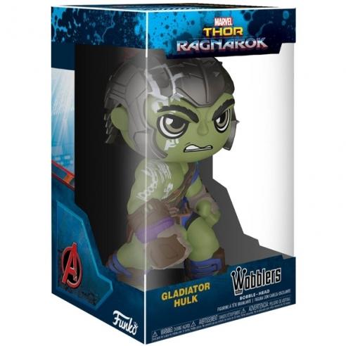 Funko Wobbler - Hulk Gladiator - Thor Ragnarok Accessori e Altri Prodotti