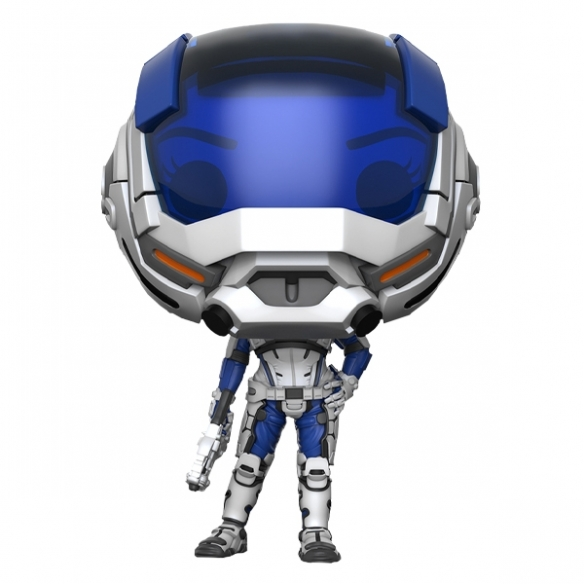 Funko Pop Games 186 - Sara Ryder (Masked) - Mass Effect Andromeda Funko