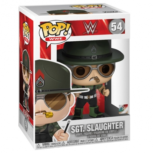 Funko Pop WWE 54 - Sgt. Slaughter Funko