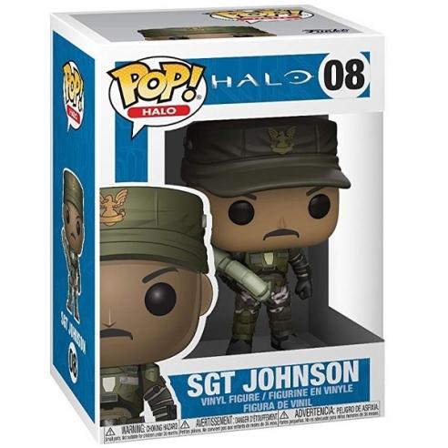Funko Pop Games 08 - Sgt. Johnson - Halo Funko