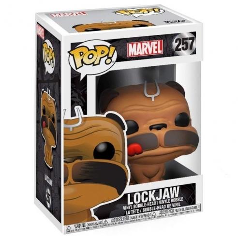 Funko Pop 257 - Lockjaw - Marvel Funko