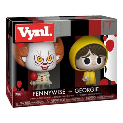 Funko Vynl - Pennywise + Georgie - IT Funko
