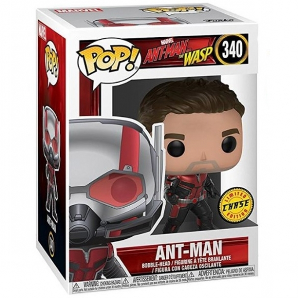 Funko Pop 340 - Ant-Man - Ant-Man and the Wasp (Chase) Funko