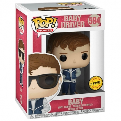 Funko Pop Movies 594 - Baby - Baby Driver (Chase) Funko