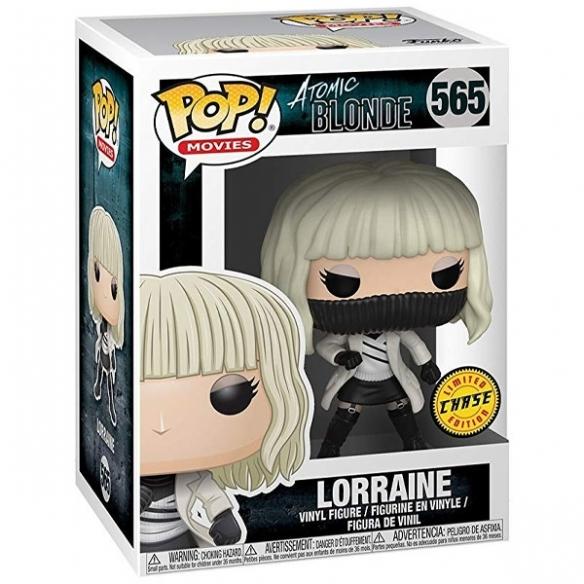 Funko Pop Movies 565 - Lorraine - Atomic Blonde (Chase) Funko