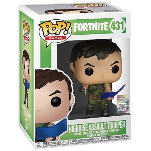 Funko Pop Games 431 - Highrise Assault Trooper - Fortnite Funko