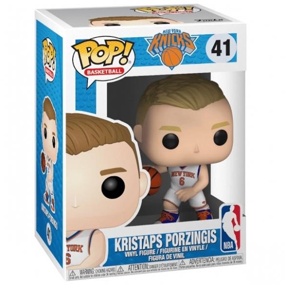 Funko Pop Basketball 41 - Kristaps Porzingis - New York Knicks POP!