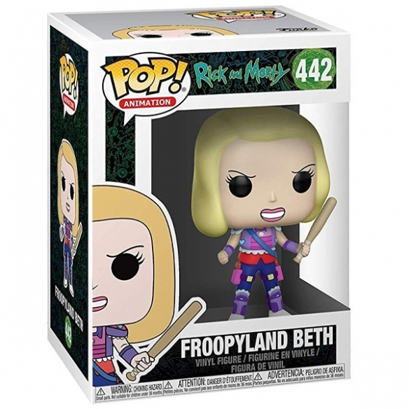 Funko Pop Animation 442 - Froopyland Beth - Rick and Morty Funko