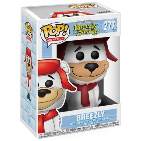 Funko Pop Animation 277 - Breezly - Breezly and Sneezly Funko