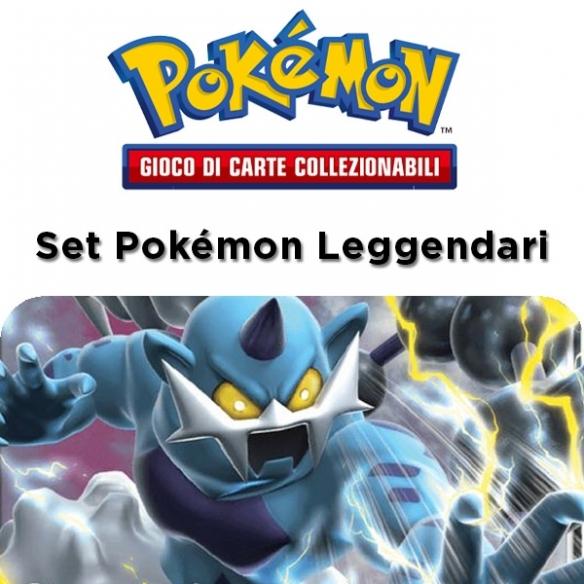 Thundurus Gx - Set Pokémon Leggendari + Penna Fantàsia (ITA) Collezioni